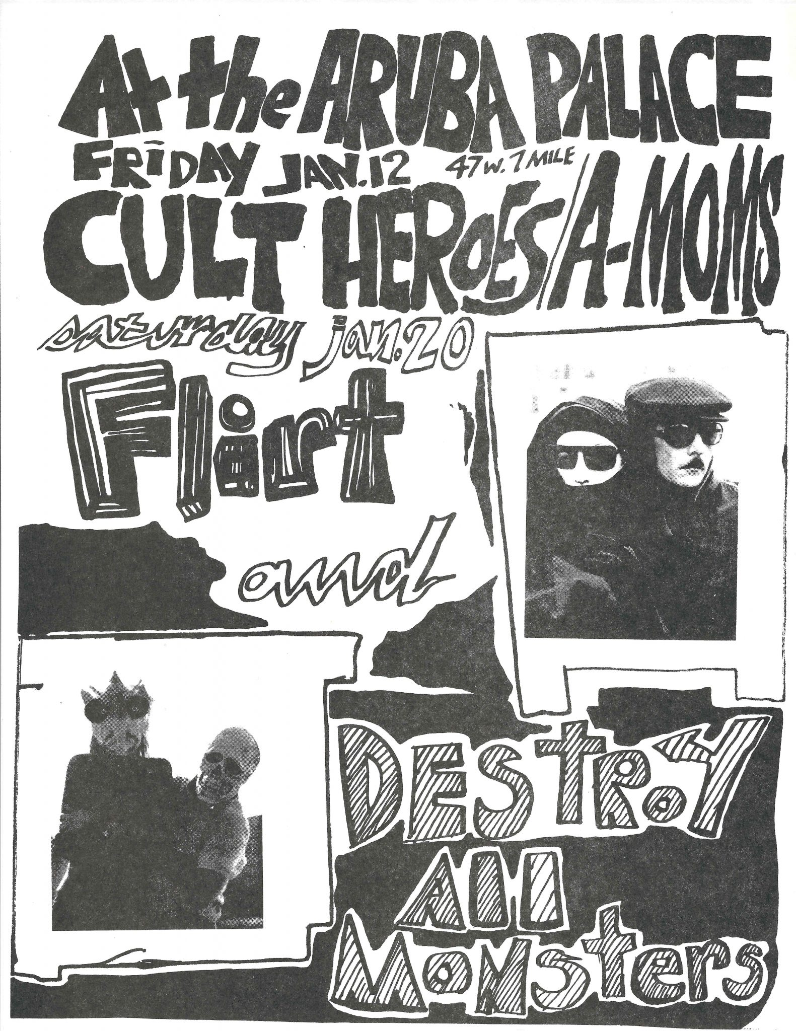 Flirt Detroit Punk Archive