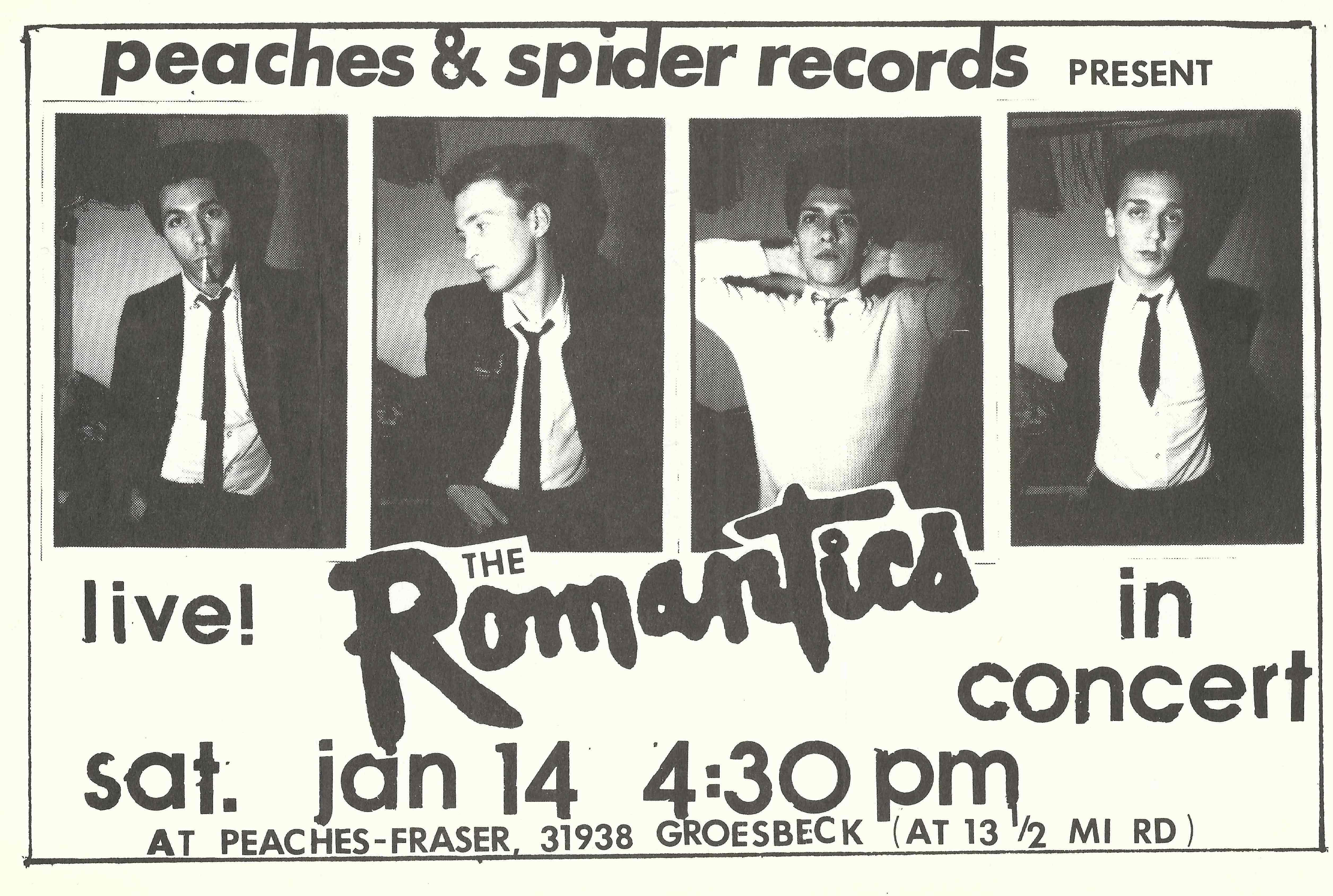 The Romantics Detroit Punk Archive